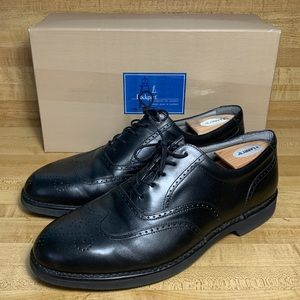 DRESSPORT BY ROCKPORT Black Leather Wing Tip M3678